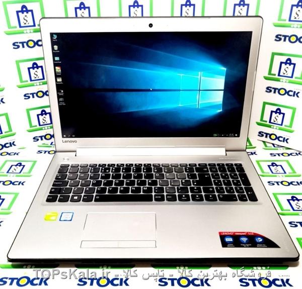 لپ تاپ کارکرده Lenovo مدل IdeaPad 510