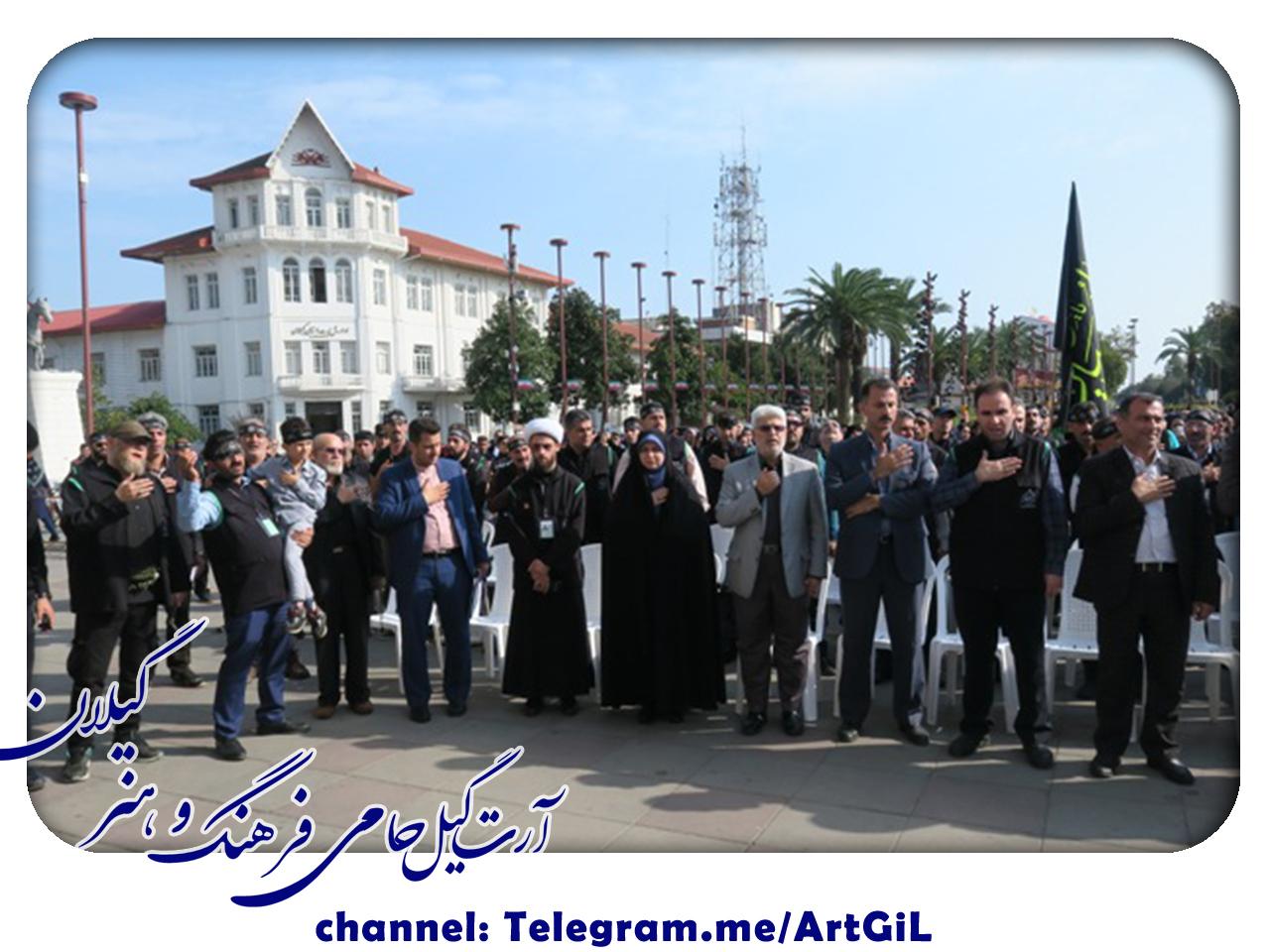 گزارش تصویری مراسم بدرقه خادمین زائرین ابا عبدالله الحسین (ع) در ایام اربعین حسینی در کربلای معلی (کاروان خدام العتره)