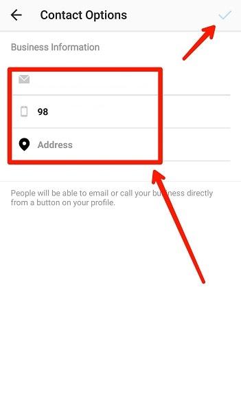 آموزش تغییر مشخصات بیزینس پروفایل در اینستاگرام بدون متصل شدن به فیسبوک