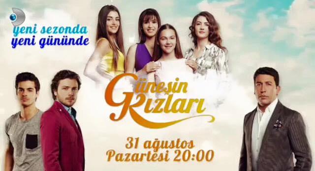 خرید اینترنتی سریال ترکی دختران آفتاب Güneşin Kızları  با دوبله فارسی و کیفیت عالی در تهران و شهرستان ها فقط 60000 تومان!!!