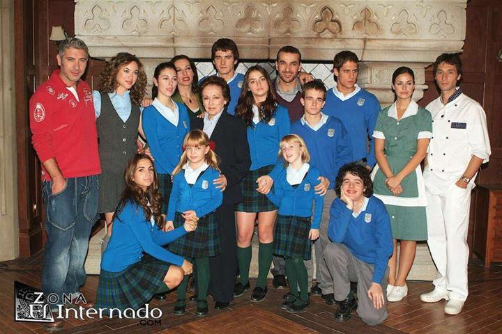 خرید اینترنتی سریال مدرسه شبانه روزی  El Internado Laguna Negra با دوبله فارسی و کیفیت عالی