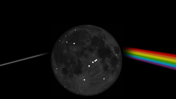 بخش قابل رؤیت ماه