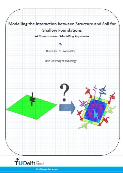 Modelling the Interaction between Structure and Soil for Shallow Foundations
