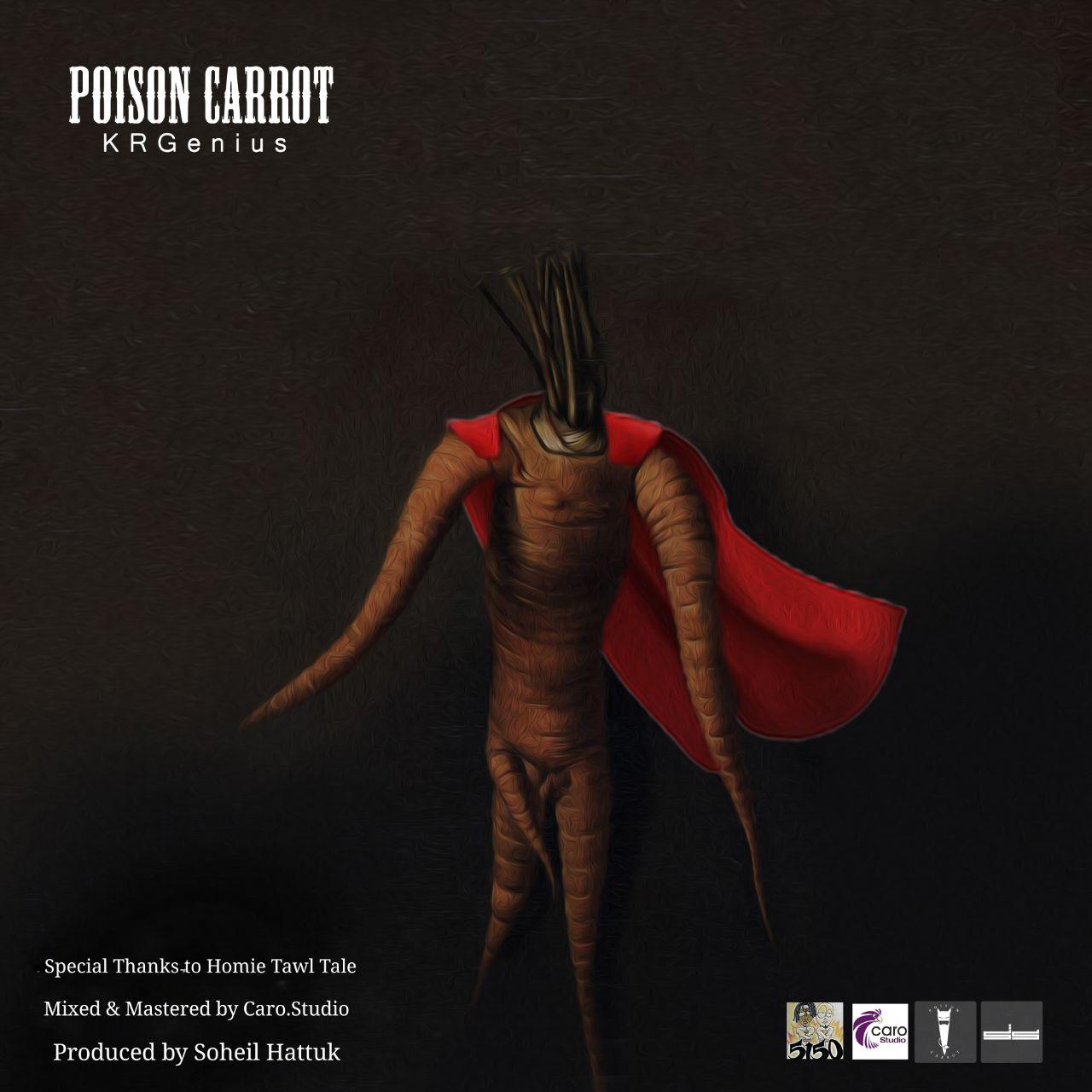 آهنگ جدید KRGenius به نام Poison Carrot