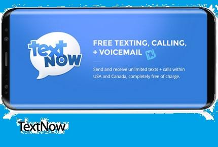 دانلود TextNow - نرم افزار موبایل ساخت شماره مجازی