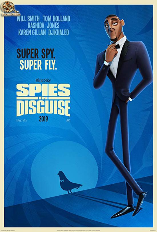 دانلود انیمیشن جاسوسان نامحسوس - Spies in Disguise 2019