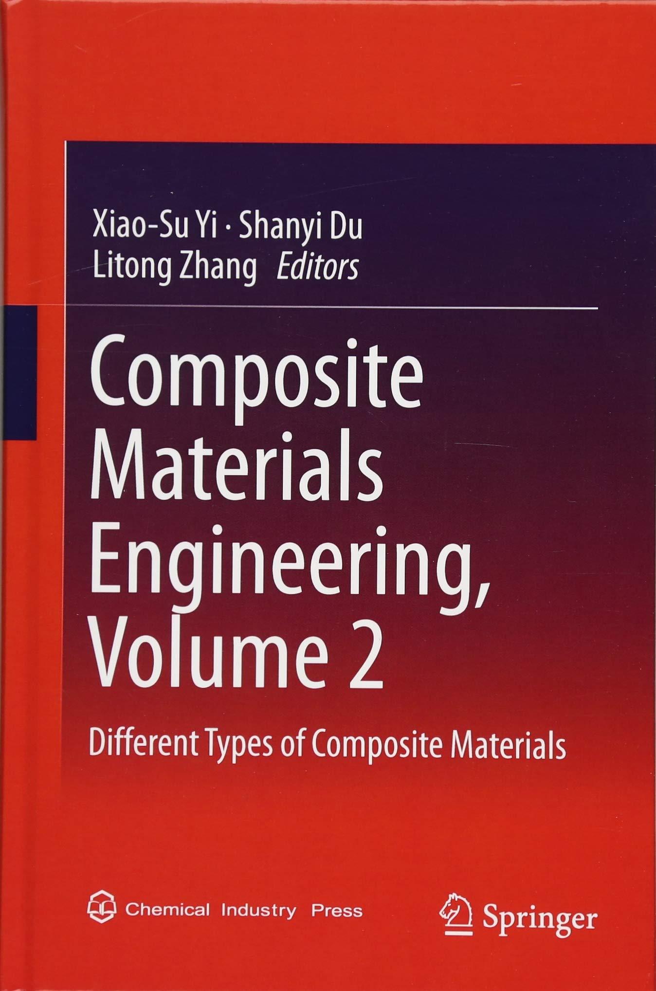 دانلود مجموعه جامع دو جلدی کتاب مهندسی الیاف کامپوزیت منتشر شده در سال 2018 Composite Materials Engineering