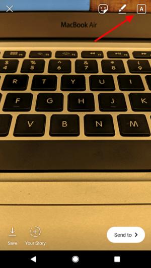 استفاده از حالت تایپ یا Type Mode برای ایجاد استوری های پیشرفته