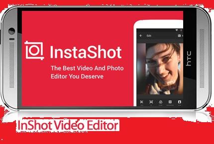 دانلود InShot Video Editor- نرم افزار موبایل ویرایشگر عکس و ویدئو اندروید