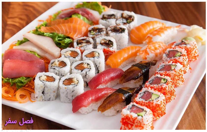 غذای ژاپن : سوشی