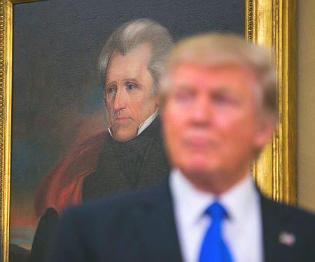 جکسون و ترامپ