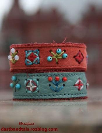 مدل دستبند چرمی دخترانه و پسرانه