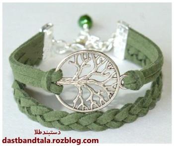 مدل دستبند چرم پسرانه و دخترانه