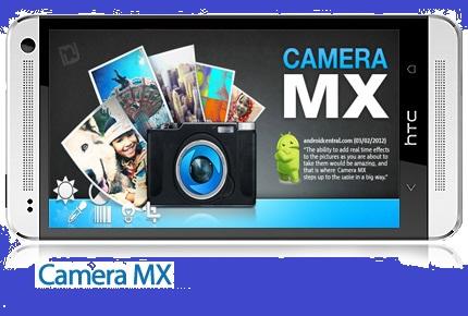 دانلود Camera MX v4.7.182 - نرم افزار موبایل عکاسی