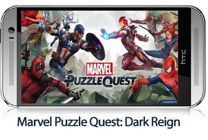 دانلود Marvel Puzzle Quest: Dark Reign v166.463064 - بازی موبایل پازل مارول