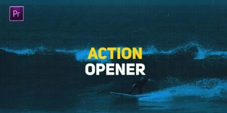 دانلود پروژه پریمیر : Action Opener مخصوص استارت فیلم