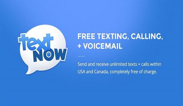 دانلود TextNow - free text + calls PREMIUM 6.1.0.3 Final - برنامه شماره مجازی رایگان اندروید
