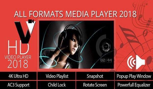 دانلود Video Player HD – All Format Media Player 2018 6.1.8 - مدیا پلیر حرفه ای و اچ دی پر طرفدار اندروید