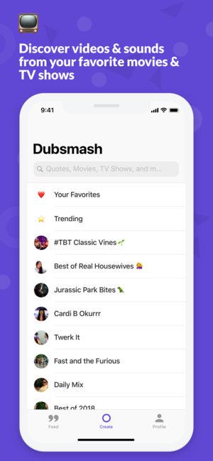 دانلود برنامه دابسمش برای آیفون Dubsmash-Version 5.5.0 آی او اس قدیمی