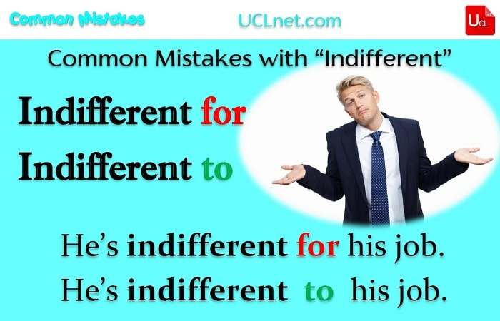 Indifferent to Common Mistakes