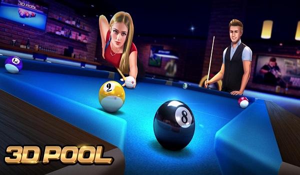 دانلود 3D Pool Ball 2.2.0.2 - بازی ورزشی آنلاین