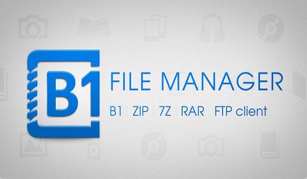 دانلود B1 File Manager and Archiver Pro 1.0.084 - فایل منیجر حرفه ای اندروید
