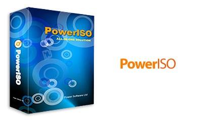 دانلود PowerISO v7.3 x86/x64 - نرم افزار ساخت و مدیریت Image های CD