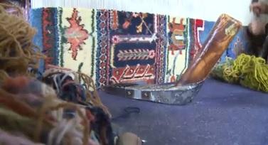 بافت فرش ۲۴متری با دستان هنرمند جوشقانی