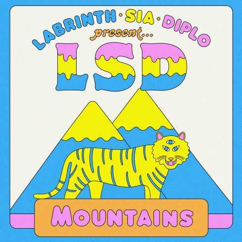 دانلود آهنگ جدید LSD ft. Sia Diplo & Labrinth به نام Mountains
