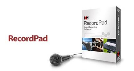 دانلود NCH RecordPad v7.17 Beta - نرم افزار ضبط صدا