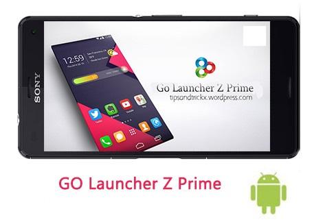 دانلود GO Launcher Z Prime/VIP 3.11 - نسخه کامل لانچر محبوب گو اندروید + S