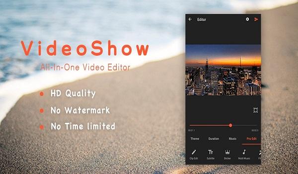 دانلود VideoShow Pro: Video Editor 8.1.8rc - ویدئو ادیتور قوی