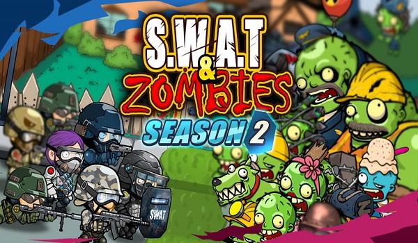 دانلود SWAT and Zombies Season 2 1.2.6 - بازی آرکید جالب گروه ضربت و زامبی ها 2 اندروید