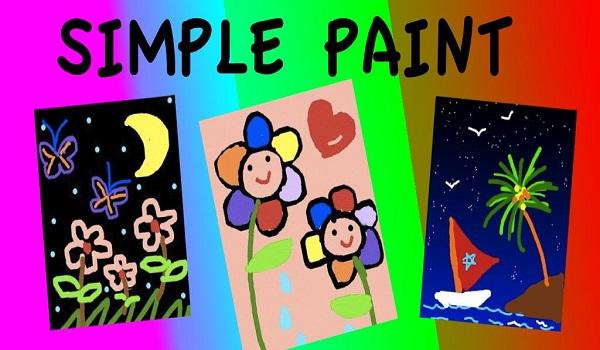 دانلود Simple Paint 6.3 - نرم افزار نقاشی ساده، جالب و آسان اندروید