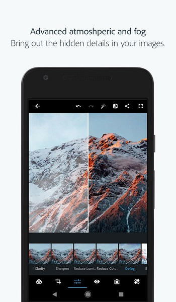 دانلود Adobe Photoshop Express Full 5.6.550 - فتوشاپ اکسپرس اندروید