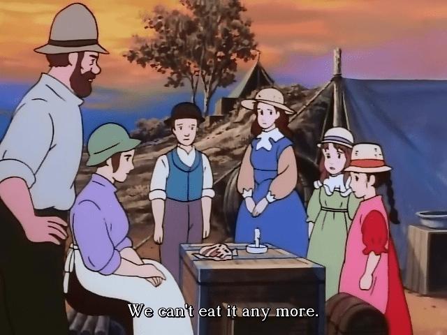 کارتون قدیمی مهاجران