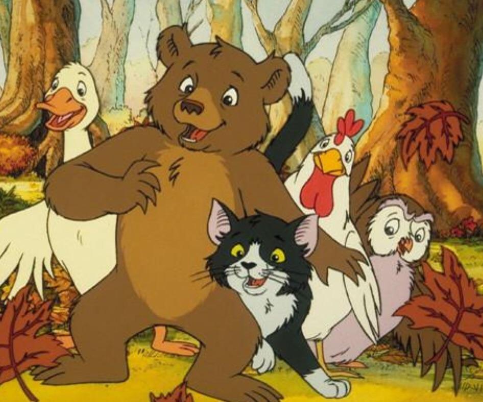 کارتون خرس کوچولو