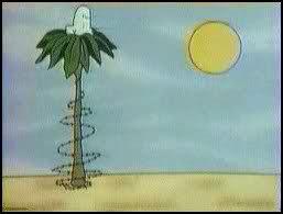 کارتون درخت نارگیل