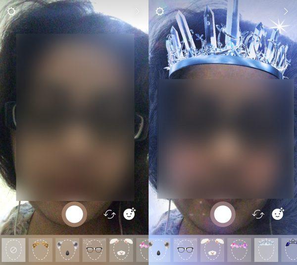 چطور در اینستاگرام از فیلتر های افکت صورت استفاده کنیم؟