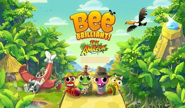 دانلود Bee Brilliant 1.67.1 - بازی پازل زنبورعسل درخشان اندروید