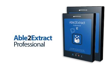 دانلود Able2Extract Professional v14.0.2 x86/x64 - نرم افزار ساخت و تبدیل پی دی اف به فرمت های مختلف