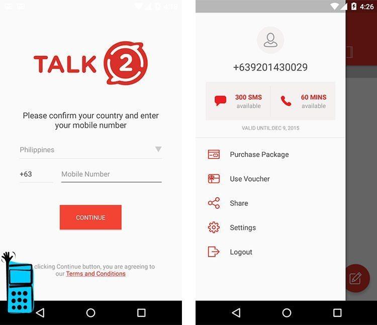 آموزش ساخت شماره مجازی تلگرام رایگان با برنامه Talk2
