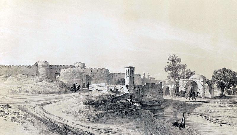 تهران قدیم در زمان قاجار