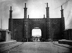 دروازه قزوین در زمان قاجار