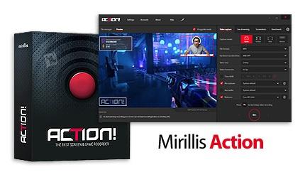 دانلود Mirillis Action v3.7.2 - نرم افزار فیلم برداری از صفحه نمایش و محیط بازی ها