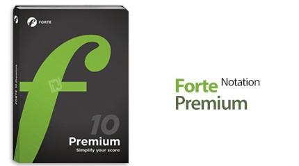 دانلود FORTE 10 Premium v10.0.3 - نرم افزار نت نویسی موسیقی