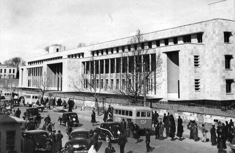 تهران قدیم بانک ملی قدیم