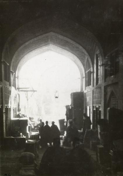 بازار تهران قدیم حدود سال 1304