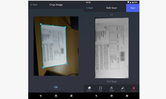 برنامه ZipScan|طریقه اسکن اسنادباموبایل|آموزش برنامه ZipScan