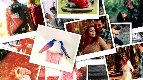 Falling Photos Opener 128057 - After Effects Templates